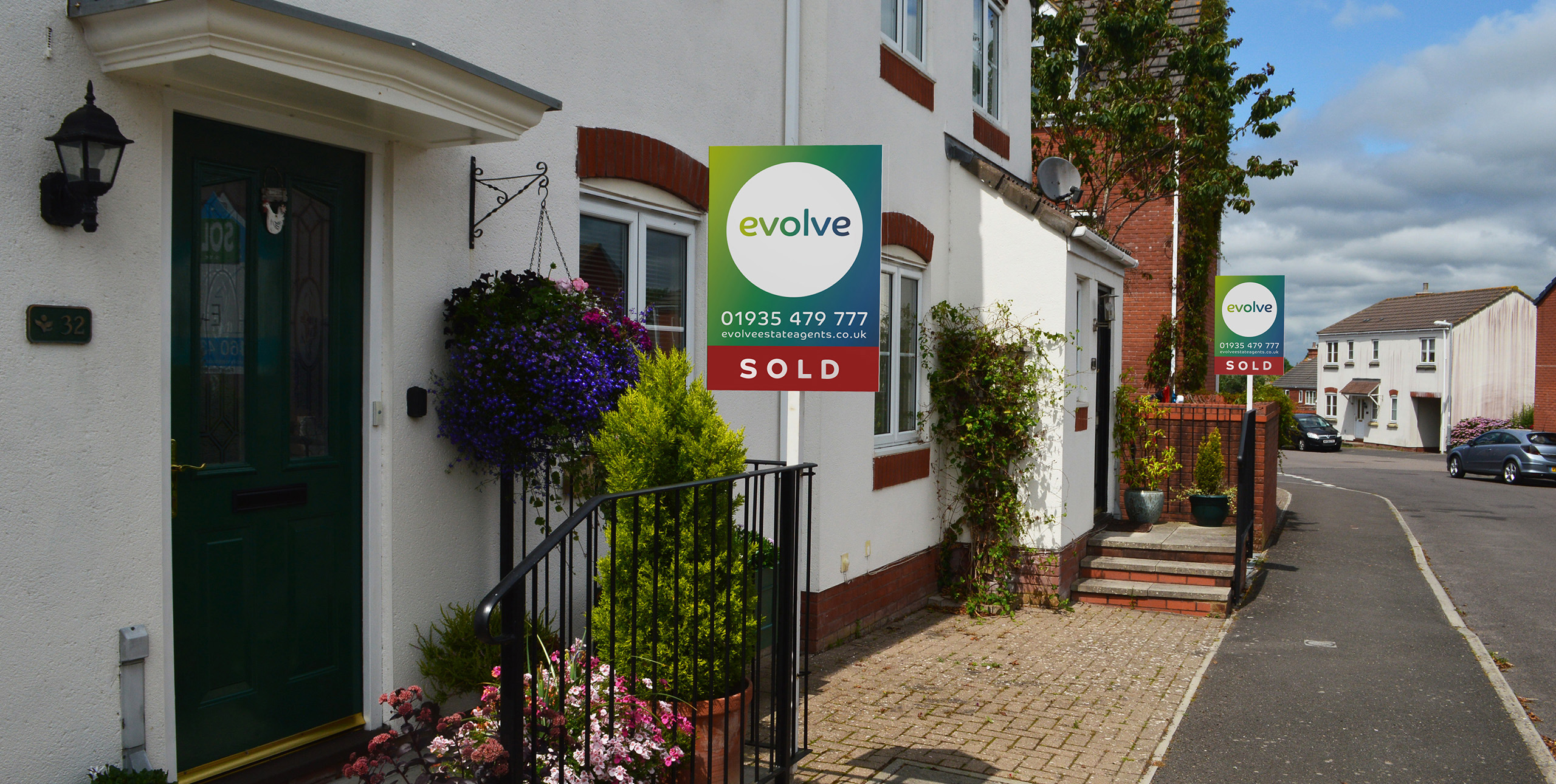 Evolve estate agents - For sale boards