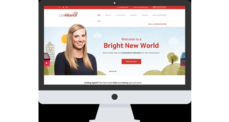 LetAlliance - Branding & Website design