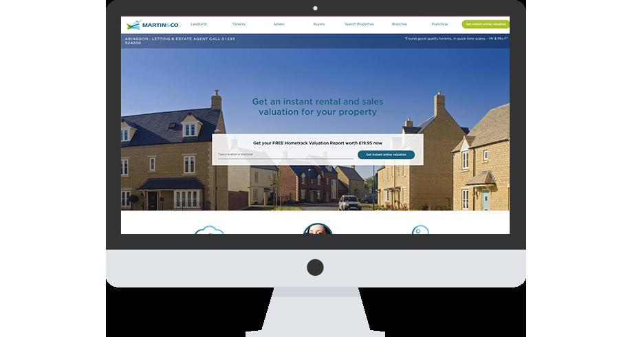 Martin & Co - Branding & Website design